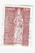 2,90€ è Vierge Blanche De La Cathédrale De LEON - 1931-Today: 2nd Rep - ... Juan Carlos I
