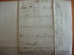 ! 1749 Obligation Aus Uetersen Schleswig-Holstein, Kirche, Old Paper Bond, Wertpapier, Germany - Hist. Wertpapiere - Nonvaleurs