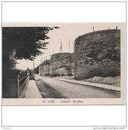 LGOTP8264CPA-LFTD4181TBES.Tarjet A Postal De LUGO.ARTE.Escultura,BUSTO Y Murallas Romanas De.Lugo. - Esculturas