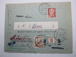 1964 , Karte Nach Österreich Mit Nachportomarken