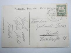 1905 , KAMERUN ,  Seepost Hamburg - Westafrika , Klarer Stempel Auf Ansichtskarte LOME ( Togo) - Kolonie: Kamerun