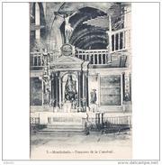 LGOTP8310ACPA-LFTD9679TBES.Tarjeta Postal De LUGO.Iglesia,ARTE.esculturas.TRASCORO DE LA CATEDRAL DE MONDOÑEDO. - Esculturas
