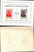 86860)  Argentina- 1960 Foglietto Anno Mondiale Del  Rifugiato MNH - Blocchi & Foglietti