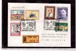 TEM9155   -   MELK  30.10.87 /   REGISTERED COVER WITH INTERESTING POSTAGE -  125 JAHRE SPARKASSE MELK - Briefmarken