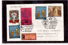 TEM9179   -   GROSS SIEGHARTS 30.4.93   /   REGISTERED COVER WITH INTERESTING POSTAGE - - Fesselballons