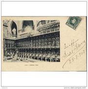 LNTP8003CPA-LFT144TBES.Tarjeta Postal De LEON.ARTE.Escultura.CORO DE LA CATEDRAL DE LEON.1902 - Esculturas