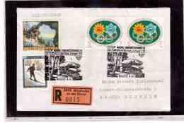 TEM9219   -    WAIDHOFEN 10.8.92    /   REGISTERED COVER WITH INTERESTING POSTAGE - - 1945-.... 2ème République