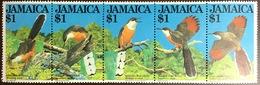 Jamaica 1982 Birds Lizard Cuckoo MNH - Zonder Classificatie
