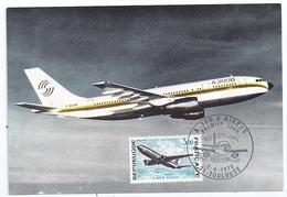 Carte Maximum Avion Airbus A300B Cachet Premier Jour Toulouse 7 Juillet 1973 éditeur G. Parison Photo Aérospatiale - 1946-....: Moderne