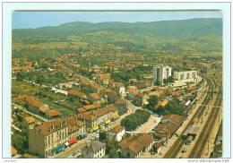 AMBERIEU-en-BUGEY / Vue Aérienne / GARE / Ligne De Chemin De Fer - Otros Municipios