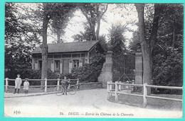 24 - DEUIL - ENTREE DU CHATEAU DE LA CHEVRETTE - Deuil La Barre