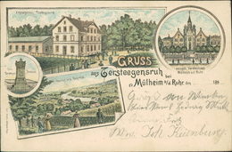 AK Gruss Aus Tersteegensruh Bei Mülheim A. D. Ruhr, O 1897 (2001) - Mülheim A. D. Ruhr