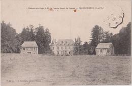 PLEUGUENEUC ( I. ET V. ) - Château Du Gage, à Mr. Le Comte Henri De France. - France