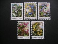 USSR Spring Flowers 1983 MNH - Flora