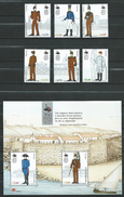 Portugal 2003 The 200th Anniversary Of The Military Academy - Uniforms.S/S And Stamps.MNH - Nuovi