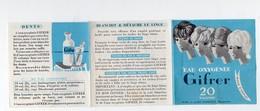 Publicité Mode D'emploi EAU OXYGENEE GIFRER 20 (PPP4304) - Publicités