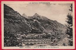 """CPA 73 MODANE Savoie - Dépôt Des Machines (Gare) Et Fort Du Replaton ° Edition A. Filliol """"La Savoie Pittoresque"""" - Modane"""