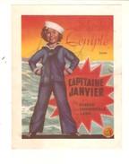 Shirley Temple Dans CAPITAINE JANVIER  - Feuillet Annonce CINE FORUM Séances Des 29, 30 Et 31 Mai 1937 -  11,5 X 15 Cm - Affiches