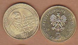 AC -  POLAND 125th ANNIVERSARY OF ROCZNICA URODZIN KAROLA SZYMANOWSKIEGO 2 ZILOTY 2007 COMMEMORATIVE COIN UNCIRCULATED - Pologne