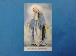Santino - Holy Card - Immacolata Concezione - - Santini
