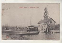 VRAUX - L'écluse - Péniche - France
