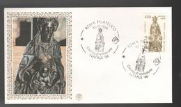 FDC Italia 1986 Filagrano Basilica Del Santo Padova Da 450 Lire - 6. 1946-.. Repubblica