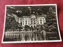 La Suisse / Zwitserland Hotel Vitznauerhof 1958 - Hotels & Restaurants