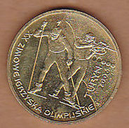 AC -  POLAND XX ZIMOWE IGRZYSKA OLIMPIJSKIE  TURYN 2006  2 ZILOTY 2006 COMMEMORATIVE COIN UNCIRCULATED - Pologne