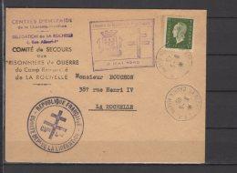 La Rochelle - Libération De La Forteresse - Comité De Secours Aux Prisonniers ...  Sur Lettre  - 8/5/45 - Liberation
