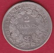 France 2 Francs Argent Cérès 1895 A - France