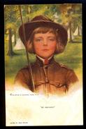 Scout - 'Be Prepared' - Reinthal & Newmann / Postcard Circulated, 2 Scans - Boileau, Philip