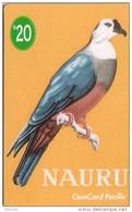 NAURU OISEAU BIRD MICRONESIAN PIGEON MINT NEUVE 20$ - Nauru