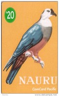 NAURU OISEAU BIRD MICRONESIAN PIGEON MINT NEUVE 20$