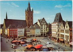 Trier: VW T2 KLEINBUS, FORD TRANSIT, MERCEDES LKW - Hauptmarkt - (D.) - PKW