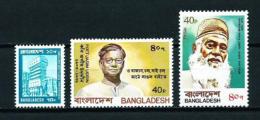Bangladesh  Nº Yvert  125-130A-134  En Nuevo - Bangladesch