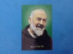 Santino - Holy Card - Beato Padre Pio - - Santini