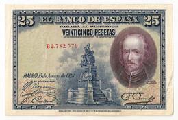 España - 25 Pesetas - 1928 - [ 1] …-1931 : Eerste Biljeten (Banco De España)