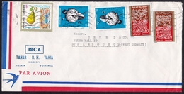 Tunisia: Airmail Cover To Germany, 1972, 5 Stamps, Space, Pear, Fruit, Art (traces Of Use) - Tunesië (1956-...)
