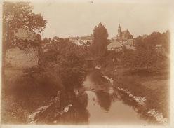 Photo Juin 1911 Route De Jemelle à Rochefort Village De .... 12x9cm - Places