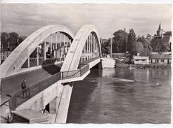 CPA.58.Decize.Le Nouveau Pont Sur La Loire.1961. 10,5 Cm X 15 Cm. - Decize