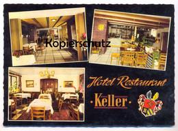 ÄLTERE POSTKARTE HOTEL RESTAURANT KELLER Ansichtskarte Postcard AK Cpa - Kreuztal