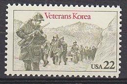 USA 1985 Veterans Korea 1v ** Mnh (35101F) - Nuovi