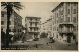 NERVI  PIAZZA  VITT. EMANUELE II°  BANCA  CREDITO  ITALIANO      2 SCAN     (NUOVA) - Other Cities