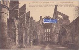 RUINES DE L'ABBAYE DE VILLERS INTERIEUR  DE L'EGLISE - Villers-la-Ville