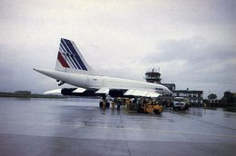Air France Concorde Aéroport Turin-Caselle Aviation/avion/aircraft/aeroplane/airplane/airport - Aérodromes