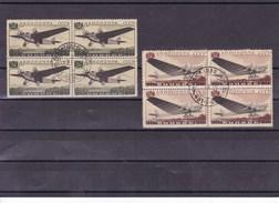 RUSSIE : Avions : Y&T : 61 O-62 O Blocs De 4 Timbres - 1923-1991 URSS