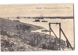 CPA Libye Tobruk Macello Da Campo In Riva Al Porto - Libye