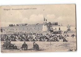 CPA Libye Bengasi Accampamento Davanti Il Castello - Libye