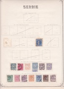 Serbie - Collection Vendue Page Par Page - Timbres Oblitérés / Neufs * Avec Charnière - B/TB - Serbie