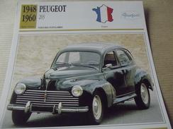 PEUGEOT  203   1948 - Voitures
